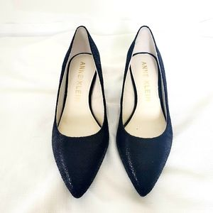 NWOT Anne Klein Nora Pumps Black Lion